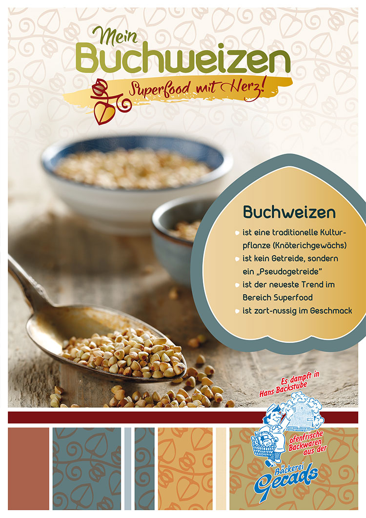 Gerads Buchweizen Superfood